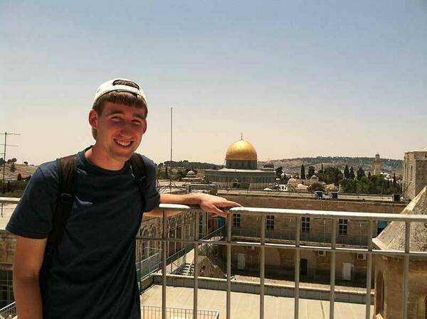 Caleb in the Middle East