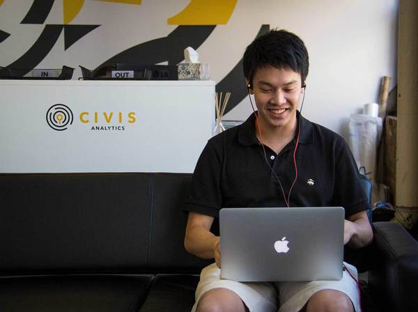 Chas Jhin at Civis Analytics