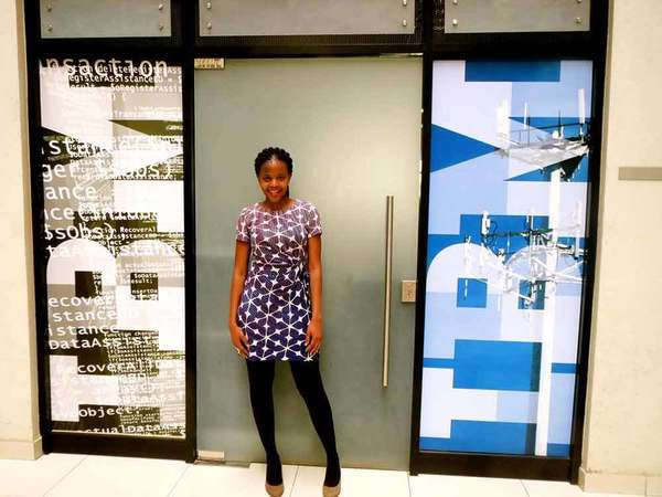 Olivia Mogaka interned at IBM Kenya