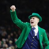 Hesburgh-Yusko Scholar Conal Fagan to continue his role as Notre Dame Leprechaun